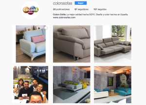 Redes Sociales para mobiliario, ferias y sofás