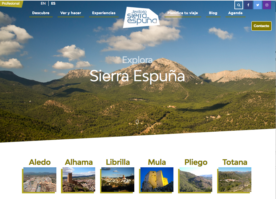 Nuevo proyecto: Territorio Sierra Espuña