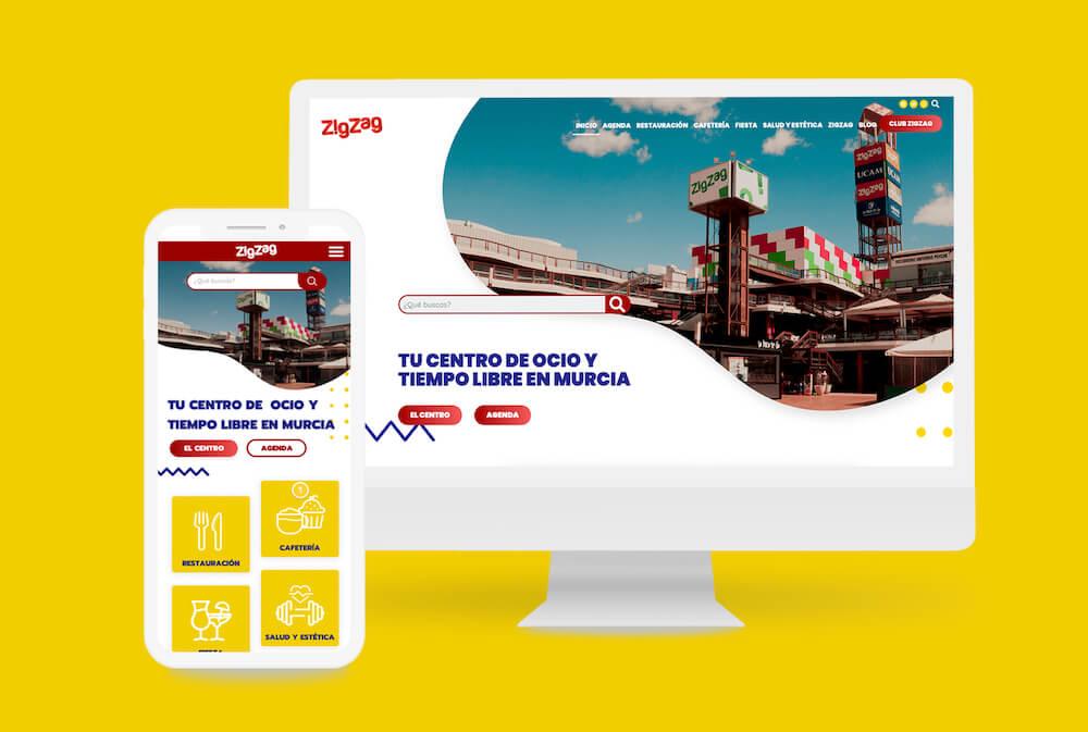 Diseño y desarrollo web Zig Zag Murcia